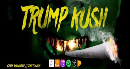 South Central L.A. artist releases a controversial record titled Trump Kush