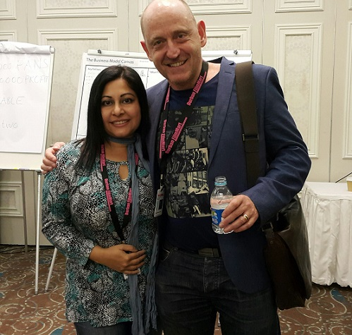 Oscar Nominee Producer David Max Brown in awe of his super-talented friend Nirvadha Singh