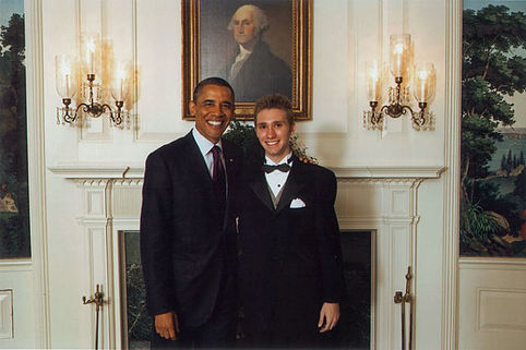 Teen Prominent LGBT Advocate Laieski Welcomed by President Obama